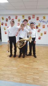 von links nach rechts: Paul, Martin, Matthias & Marcel